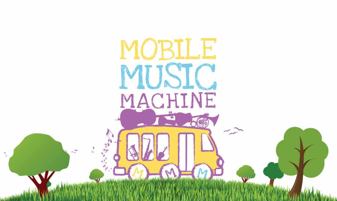 Celebration of Mobile Music Machine's educational partnership with Blackwater Valley Opera Festival