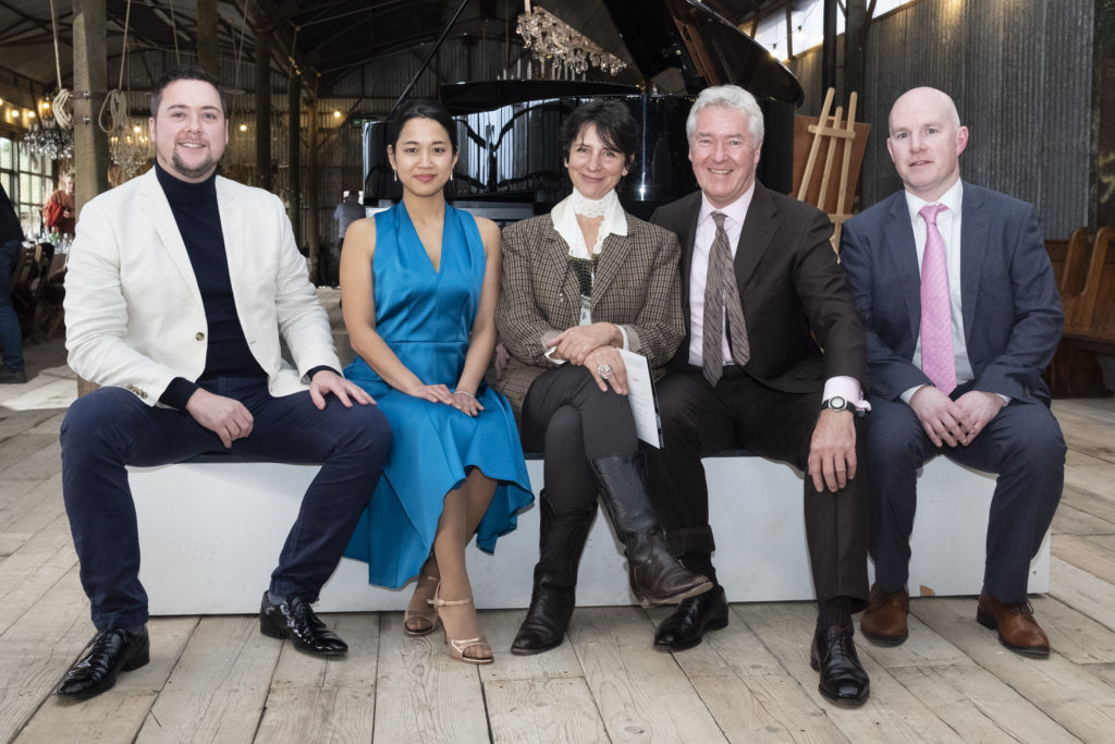 Darren, Naho, Gianni, Michael and Eamonn at the blackwater valley opera festival launch