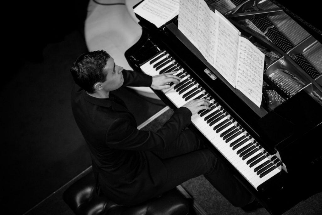Niall Kinsella Playing Piano