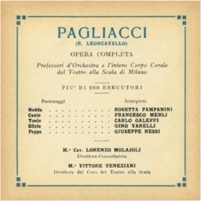 Pagliacci music cover
